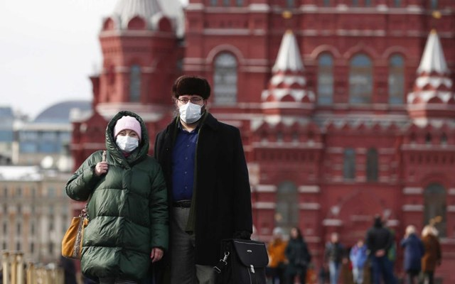 Ρωσία: Περισσότερα από 5.000 νέα κρούσματα κορονοϊού καταγράφηκαν μέσα σε 24 ώρες