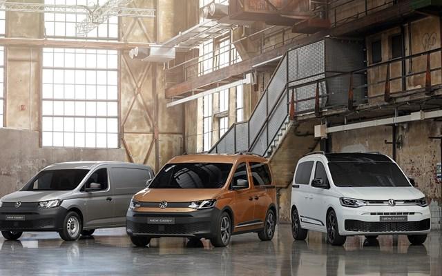 H Volkswagen παρουσιάζει το νέο Caddy