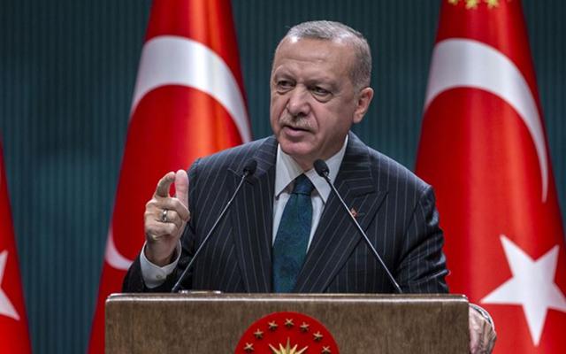 Ερντογάν: Η Άγκυρα έχει το νόμιμο δικαίωμα να αναλάβει δράση, αν οι μαχητές δεν έχουν εκκαθαριστεί από τα σύνορα της με τη Συρία