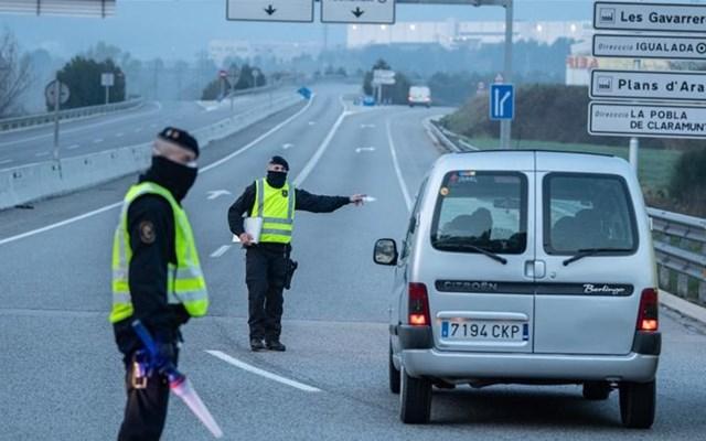 Ισπανία: Έλεγχοι και αστυνομικές περιπολίες στην Παμπλόνα