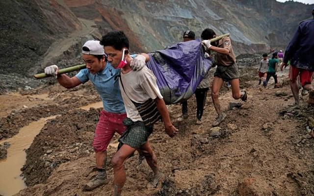 Μιανμάρ: Περισσότεροι από 170 νεκροί μετά την κατολίσθηση σε ορυχείο νεφρίτη