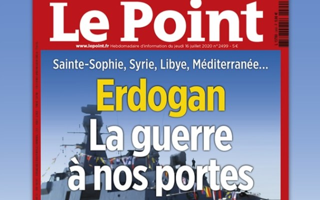 Πόλεμος στο κατώφλι μας - Tο εξώφυλλο του Le Point για Ερντογάν που εξόργισε τους Τούρκους