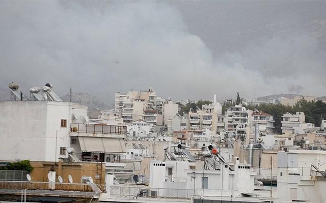 Κυκλοφοριακές ρυθμίσεις στην περιοχή του Καρέα λόγω της πυρκαγιάς
