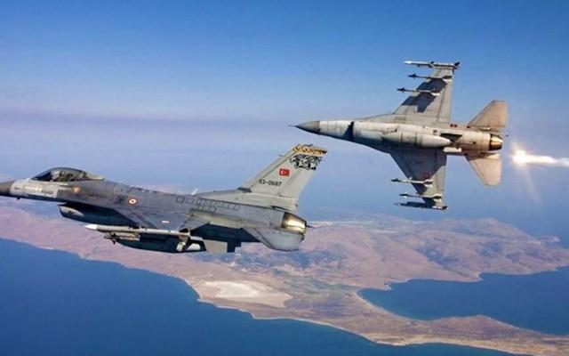 Νυκτερινές πτήσεις ζεύγους τουρκικών αεροσκαφών πάνω από το βόρειο Έβρο
