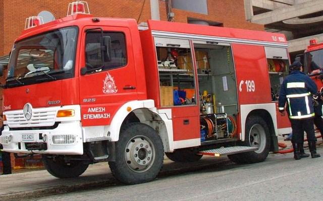 Θεσσαλονίκη: Άμεσα κατασβέστηκε φωτιά μικρής έκτασης σε κτίριο γραφείων της ΟΛΘ Α.Ε