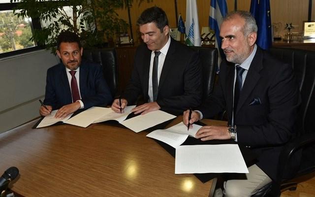 Υπογραφή MoU μεταξύ ΔΕΠΑ, ΔΕΣΦΑ και Οργανισμού Λιμένος Πάτρας