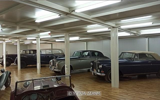 Υπ. Πολιτισμού: Σε νέο χώρο φύλαξης τα οχήματα της τ. βασιλικής οικογένειας
