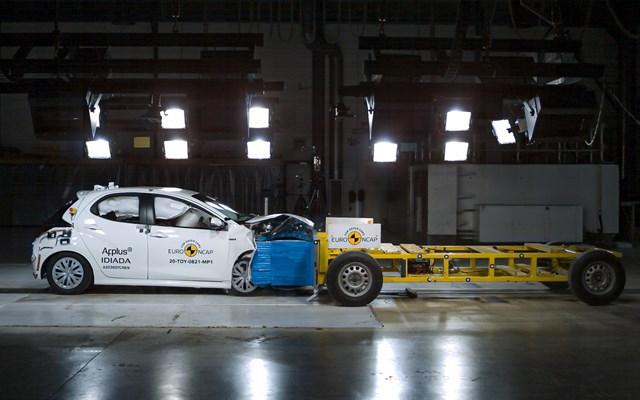 Κορυφαία ασφάλεια 5 αστέρων στον Euro NCAP για το νέο Toyota Yaris