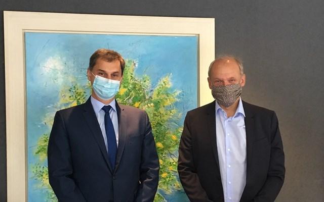 Συνάντηση Χ. Θεοχάρη - SebastianEbel (TUI): Θετικά μηνύματα για τον τομέα της κρουαζιέρας