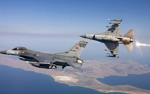 Για τρίτη συνεχή ημέρα πτήση τουρκικών F-16 πάνω από το Φαρμακονήσι