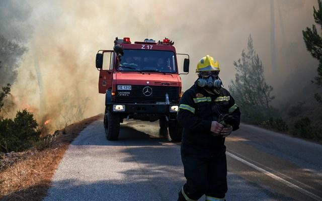 Πυρκαγιά στο Θεολόγο της Φθιώτιδας
