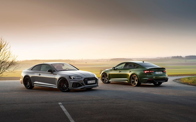 Audi: Tα νέα RS 5 Coupé και RS 5 Sportback στην Ελλάδα