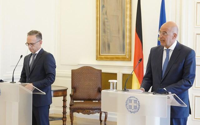 Επικοινωνία Ν.Δένδια με τον Γερμανό υπουργό Εξωτερικών