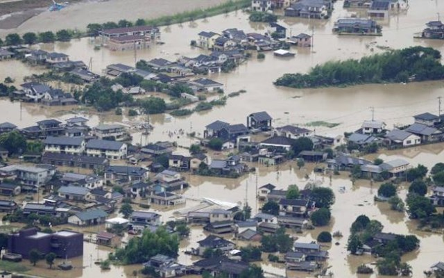 Ιαπωνία: Τουλάχιστον 50 οι νεκροί από τις καταρρακτώδεις βροχές και τις πλημμύρες