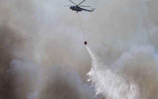 Σε εξέλιξη μεγάλη φωτιά στην ανατολική Μάνη