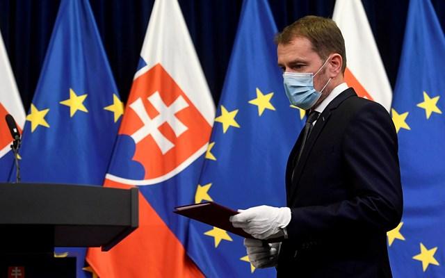 Σλοβακία: Ημερήσιος αριθμός ρεκόρ νέων κρουσμάτων κορονοϊού