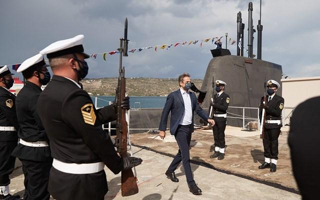 Το υποβρύχιο ΚΑΤΣΩΝΗΣ επισκέφθηκε ο Κυρ. Μητσοτάκης