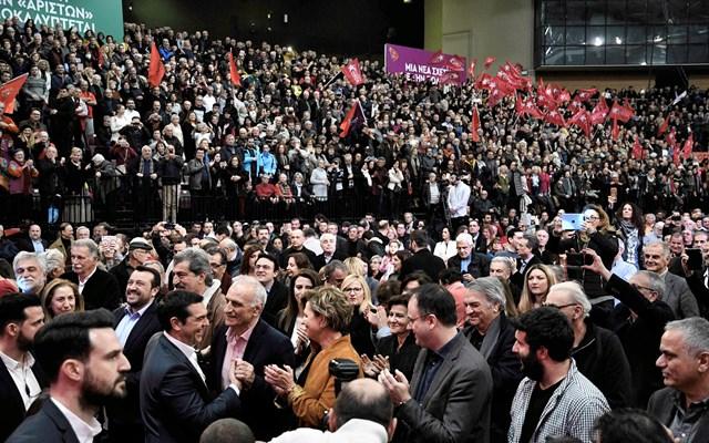 Παντιέρα σκληρού αντιπολιτευτικού ροκ σήκωσε ο Τσίπρας