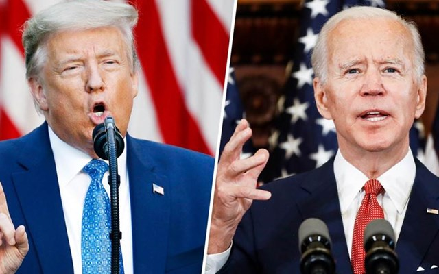 Δημοσκόπηση: Μικρό ή ανύπαρκτο το προβάδισμα του Μπάιντεν έναντι του Τραμπ σε κρίσιμες πολιτείες