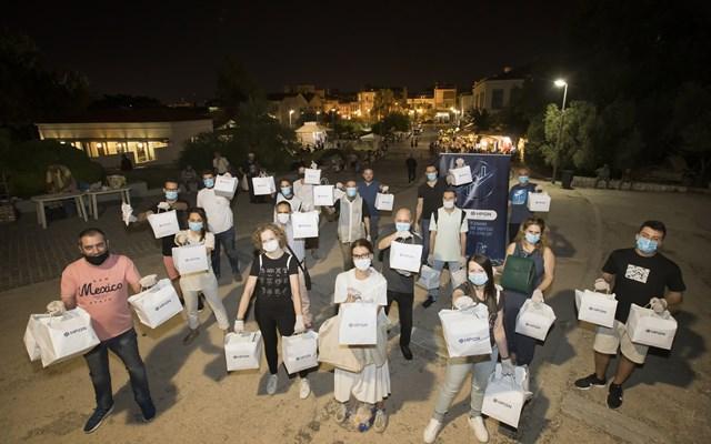 Δείπνο Αγάπης από τους εργαζόμενους του ΗΡΩΝΑ για τους άστεγους πολίτες της Αθήνας