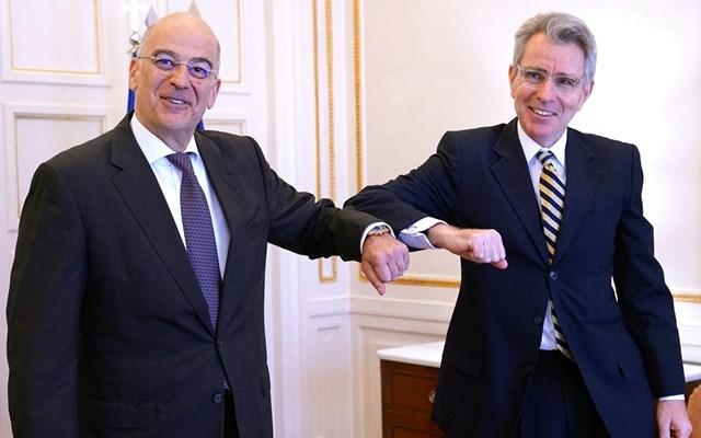 Τζ. Πάιατ: Η άποψη της Ελλάδας ότι τα νησιά έχουν υφαλοκρηπίδα ταυτίζεται με αυτή των ΗΠΑ και της ΕΕ