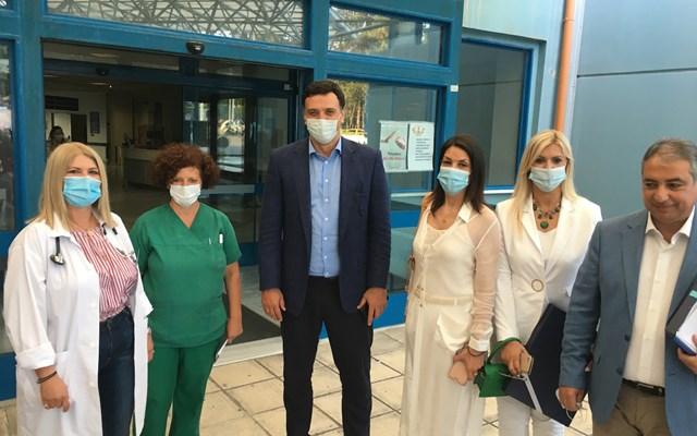 Β. Κικίλιας: Νέος, μεγάλος, τελευταίας τεχνολογίας μοριακός αναλυτής στο νοσοκομείο της Κέρκυρας