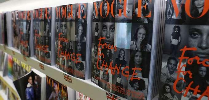 Ξεπούλησε σε χρόνο ρεκόρ η βρετανική Vogue με τη Μέγκαν Μαρκλ