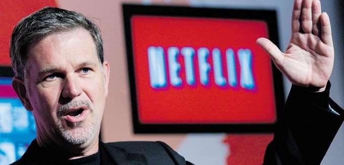 Πλουσιότερος κατά 400 εκατ. δολ. ο ιδρυτής του Netflix