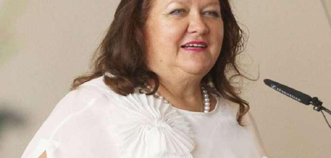 Η Gina Rinehart παραμένει στο Νο 1 της λίστας με τους πλουσιότερους Αυστραλούς