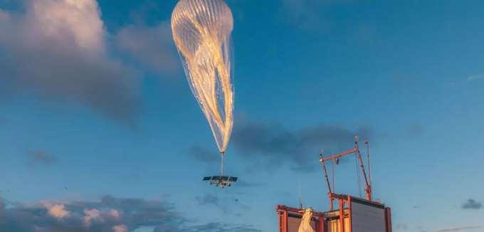 """""""Ξεφούσκωσε"""" το πρότζεκτ Loon της Alphabet, για διαδίκτυο μέσα από μπαλόνια"""