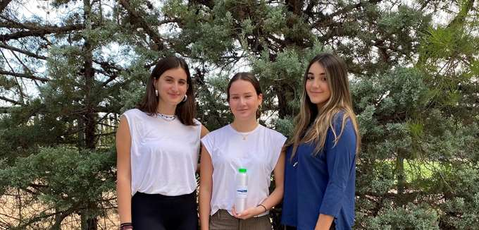 BioBottles: Τρεις μαθήτριες λυκείου στη μάχη κατά των πλαστικών