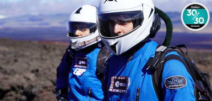 Ο Αύγουστος Πανταζίδης θέλει να πάει στη Σελήνη και στον Άρη