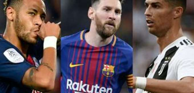Ποιοι είναι οι 20 πιο ακριβοπληρωμένοι ποδοσφαιριστές στον κόσμο τη σεζόν 2018-2019