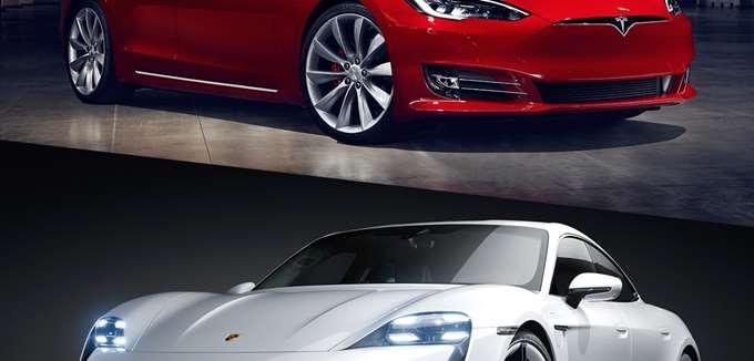 Porsche εναντίον Tesla: Είναι η Taycan το αντίπαλο δέος του Model S;