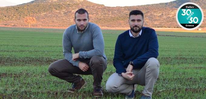 Ο Γ. Βαρβαρέλης και ο Δ. Ευαγγελόπουλος φέρνουν την τεχνητήνοηµοσύνη στο χωράφι