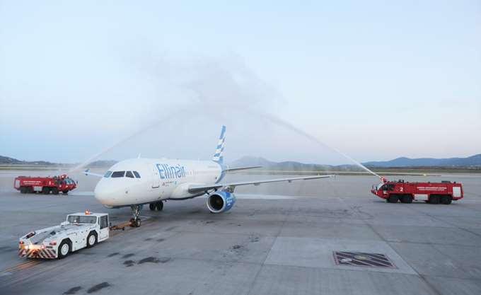 """Νέα βάση της Ellinair στο διεθνές αεροδρόμιο Αθηνών """"Ελ. Βενιζέλος"""""""