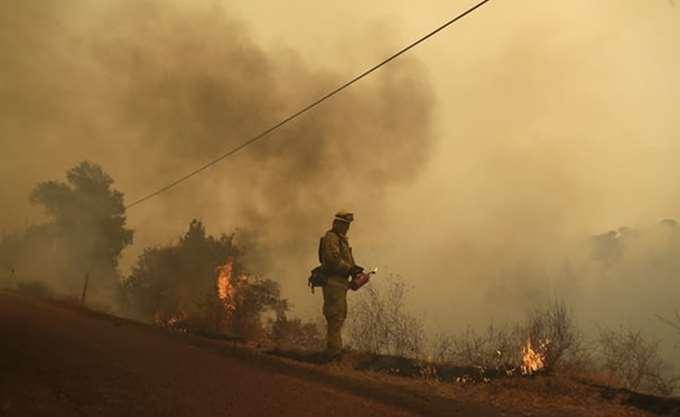 ΗΠΑ: 7.000 άνθρωποι απομακρύνθηκαν από τα σπίτια τους λόγω των πυρκαγιών