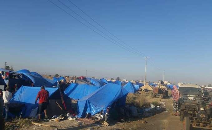 Πρόσβαση σε Σύρους που πεθαίνουν από τη ζέστη και ασθένειες στον νότο ζητά ο ΠΟΥ