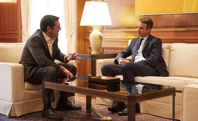 """Ο Τσίπρας παραδέχθηκε στον Μητσοτάκη ότι συζητά το """"Μακεδονία του Ίλιντεν"""""""