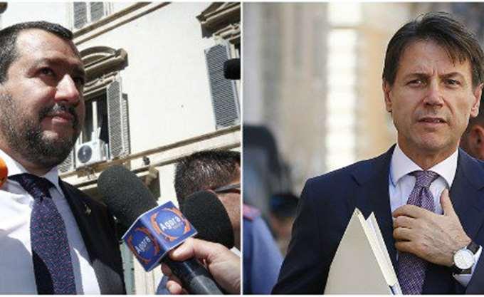 Τον ακροδεξιό Σαλβίνι θεωρεί ηγέτη της ιταλικής κυβέρνησης το 58% των Ιταλών