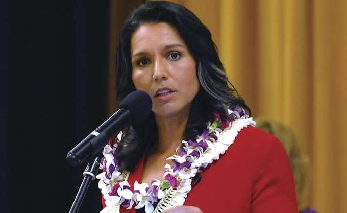ΗΠΑ: Η βουλευτής Χαβάης  Τούλσι Γκάμπαρντ διεκδικεί το χρίσμα των Δημοκρατικών