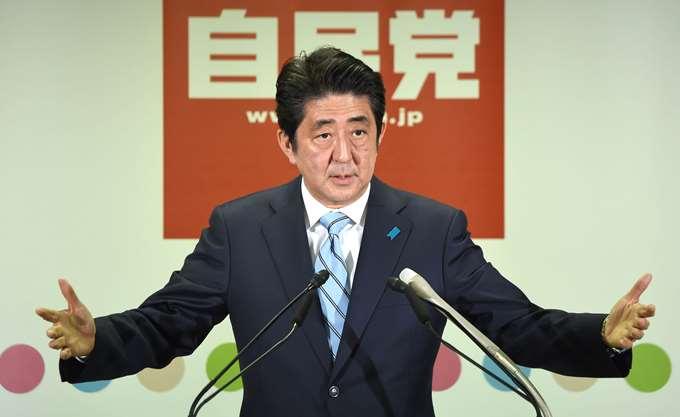 Ιαπωνία: Ο Σίνζο Άμπε εκλέχθηκε στην ηγεσία του Φιλελεύθερου Δημοκρατικού Κόμματος
