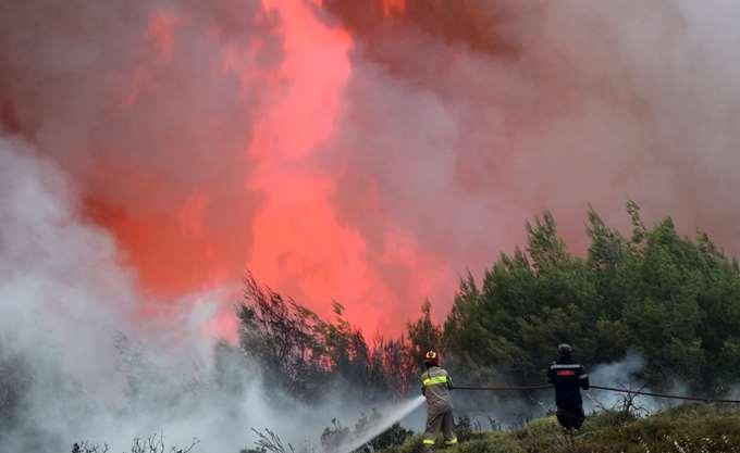 Πολύ υψηλός ο κίνδυνος πυρκαγιάς αύριο στην Περιφέρεια Βορείου Αιγαίου