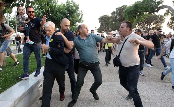 Καταδικάζει τον ξυλοδαρμό του Γ. Μπουτάρη η πρεσβεία του Ισραήλ