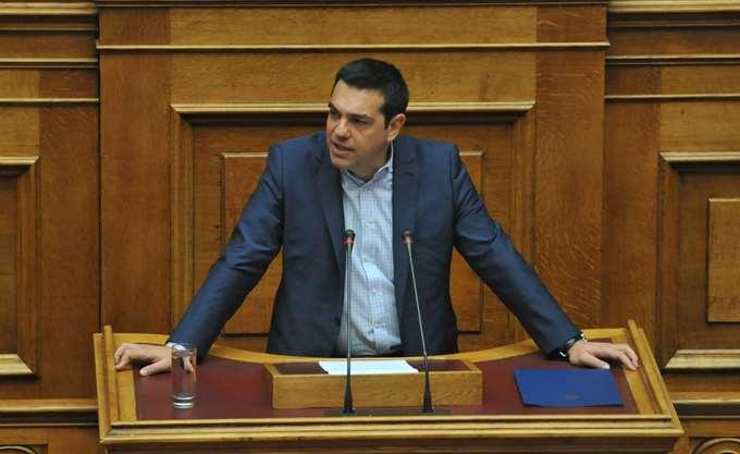 Τσίπρας στη Βουλή για μείωση ΕΝΦΙΑ-Φορολογικού συντελεστή