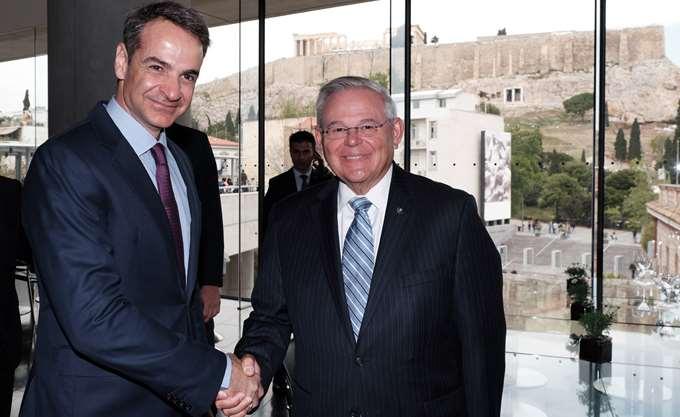 Κ. Μητσοτάκης: Προσβλέπω σε ακόμη μεγαλύτερη εμβάθυνση της στρατηγικής σχέσης Ελλάδας-ΗΠΑ