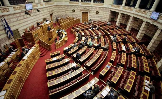Αντιπαράθεση σε επίπεδο κοινοβουλευτικών εκπροσώπων στη Βουλή