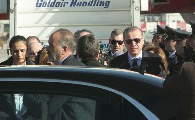 Ξεκίνησε η συνάντηση Μητσοτάκη-Ερντογάν