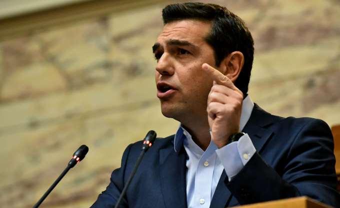 Δεν θεωρούμε απαραίτητο το ΔΝΤ λέει ο Τσίπρας και εμμένει σε έξοδο τον Αύγουστο