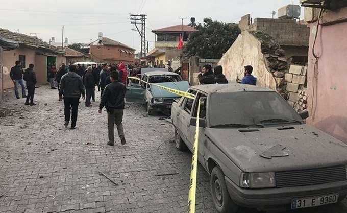 Ένας νεκρός σε τουρκική συνοριακή πόλη από πύραυλο που εκτοξεύτηκε από τη Συρία